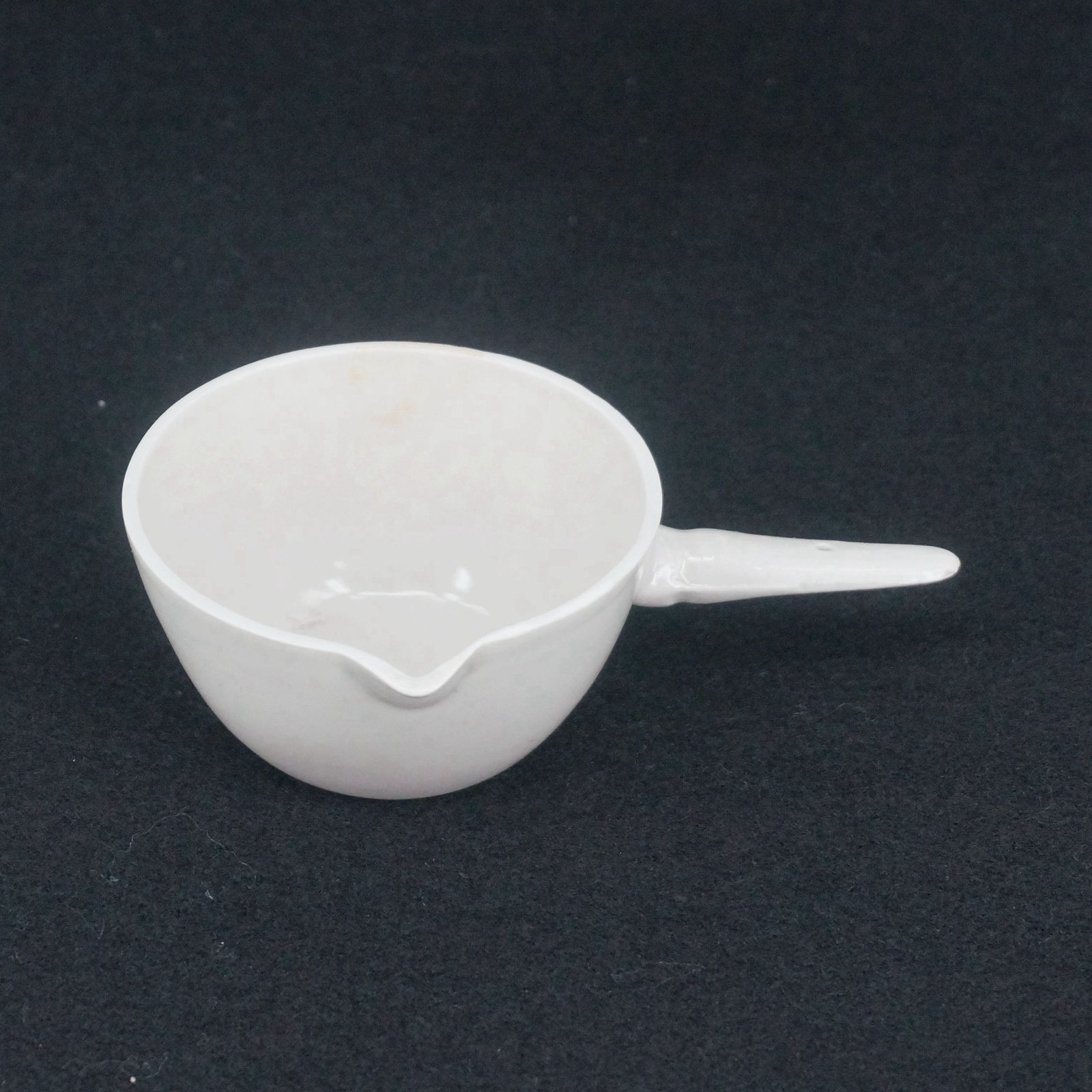 100ml Ceramic Evaporating dish Round bottom with handle For ... for Evaporating Dish Laboratory Apparatus  76uhy