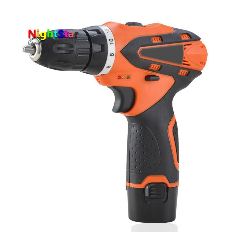 12V DC New Design Mobile Power Supply Lithium Battery Cordless Drill Power Tools 28N/M Mini Drill Electric Drill 3 7v lithium polymer battery 925593 5200mah mobile power tablet pc diy