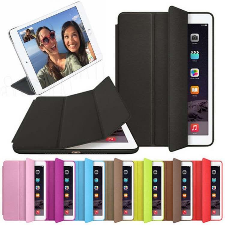 Original Smart Case For iPad Mini 3 2 1 PU Leather Cover Auto Sleep protective shell for Apple iPad Mini1 Mini2 Mini3