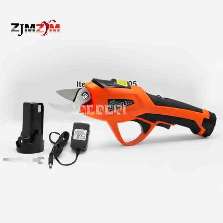 New Arrival ET1505 Electric Pruning Shears Rechargeable Home Garden Scissors Fruit Tree Branches 3.6V 1.5AH 1.2S / time 15-20min купить
