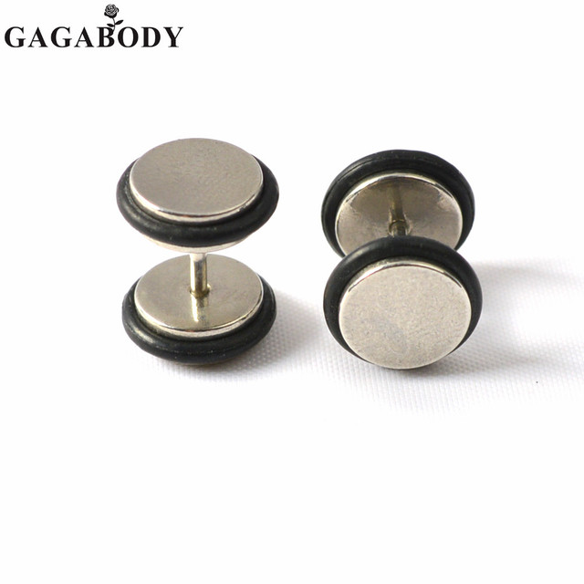 Stainless Steel Earrings Rings Ear Plugs Cheater O Ring 16gauge Sold As A
