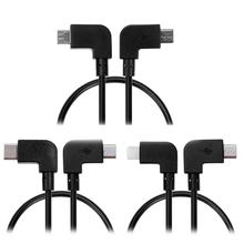 Micro USB Data Cable Line Remote Control USB Adapter for DJI Spark for Mavic Pro Controller for iPhone Samsung iPad Tablet New