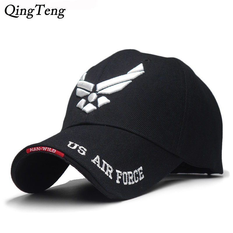 US Air Force Mens Brand Embroidered Letters Tactical   Caps     Baseball     Cap   Men Navy Seal Army   Cap   Outdoor Sports Hat
