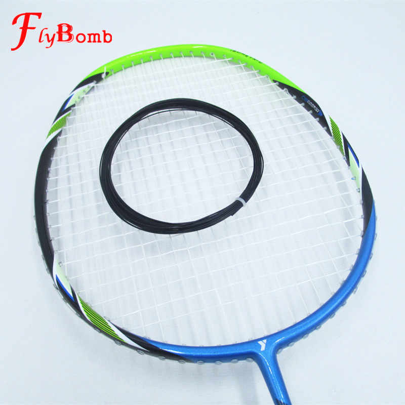 FlyBomb Badminton String Elastic Durable 0.7mm Use For Badminton Rackets Super Rebound Racquet Line Bulk 20-23lbs L420OLC
