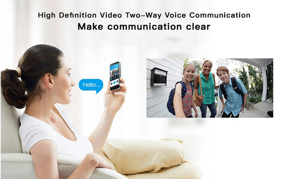 Smart IP Video Intercom WI-FI 16