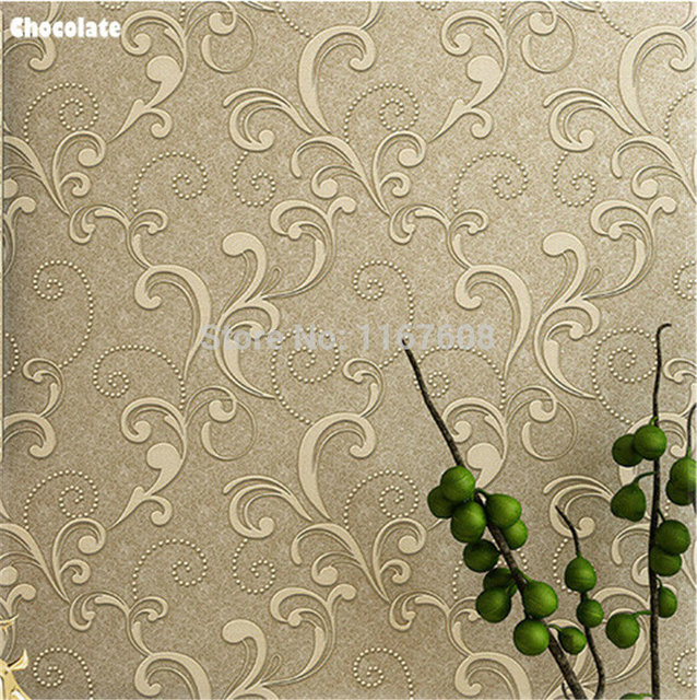living room 3d wall paper sticker 10m europe modern tapete decor tv wall paper decor of