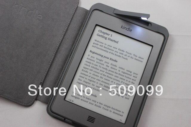 R 3394 92 Luz Embutida Para Amazon Kindle 4 Preminum Pu Estojo De Couro De Alta Qualidade Do Transporte Rapido 100 Pcs Lote Em Caso Tablets