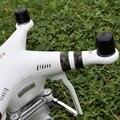 F17704/5 4 pçs/set anti-pó de borracha macia de plástico tampa de cobertura protetor guardas acidente de motor para dji phantom 3 quadcopter preto/vermelho