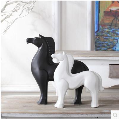 Үйге арналған керамикалық жылқы Үйге - Үйдің декоры - фото 3