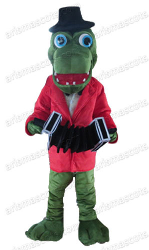 am2041 crocodile mascot costume ocean animal mascot suit halloween costume sports mascot party costumes