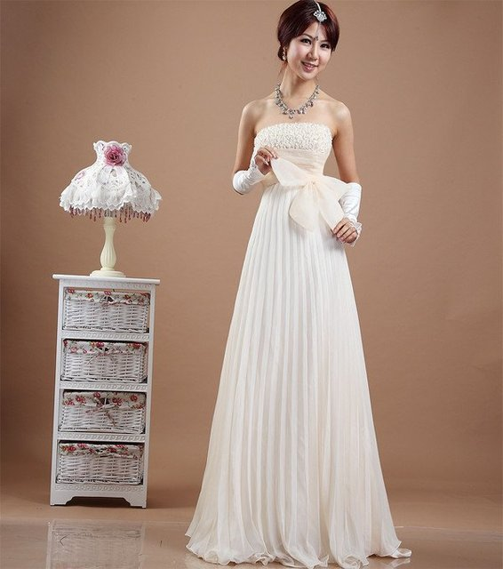 Slae Bride Top grade wedding dress, Bra Embroidered Bead bridal ...