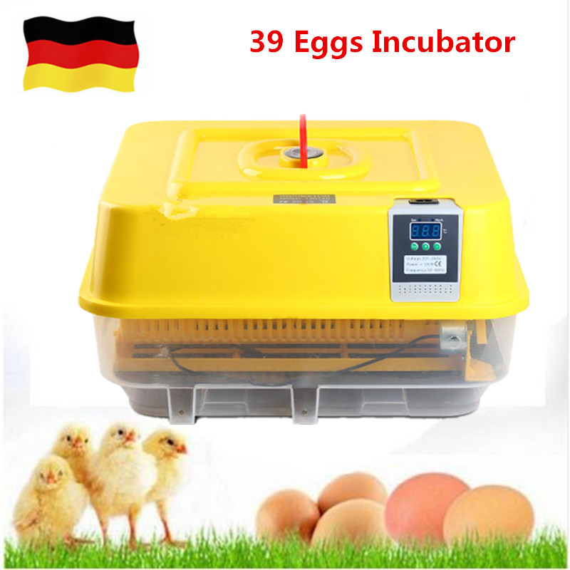 Mini fully automatic 39 egg incubator eggs turning auto hatcher eggs tray incubator machine hatching prices mini home use eggs incubators chicken digital eggs turner hatchers hatching tray machine equipment tool