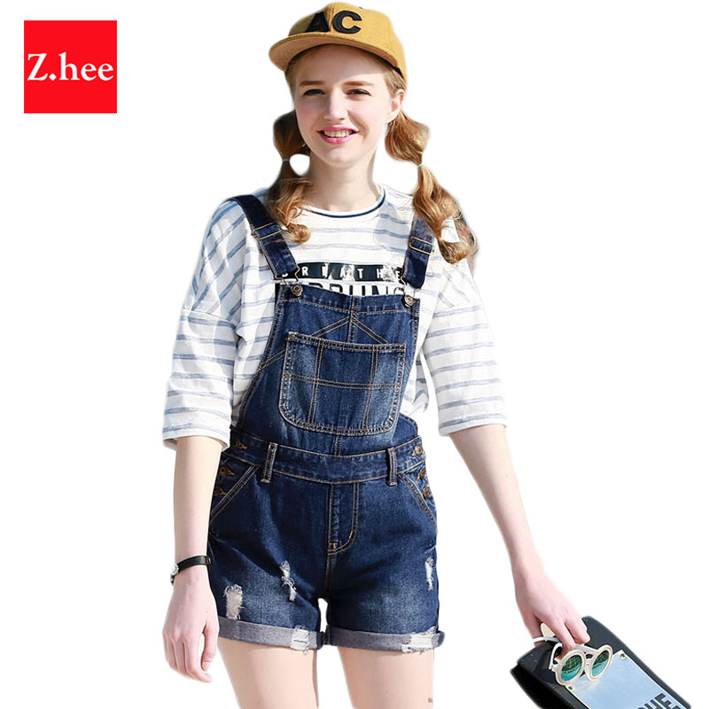 Popular High Waisted Women Denim Overalls-Buy Cheap High Waisted ...