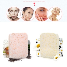 Facial Cleansing Puff Cleansing Pores Remove Blackheads Firming Skin Face Washing Makeup Removal Puff Sponges sea shell earrings for women gold color trendy metal shell cowrie statement dangle earrings 2020 new summer beach jewelry