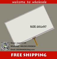 7 0 Inch 161 97mm 4 Wire Resistive Touch Panel Digitizer Screen For Eroda HD X10