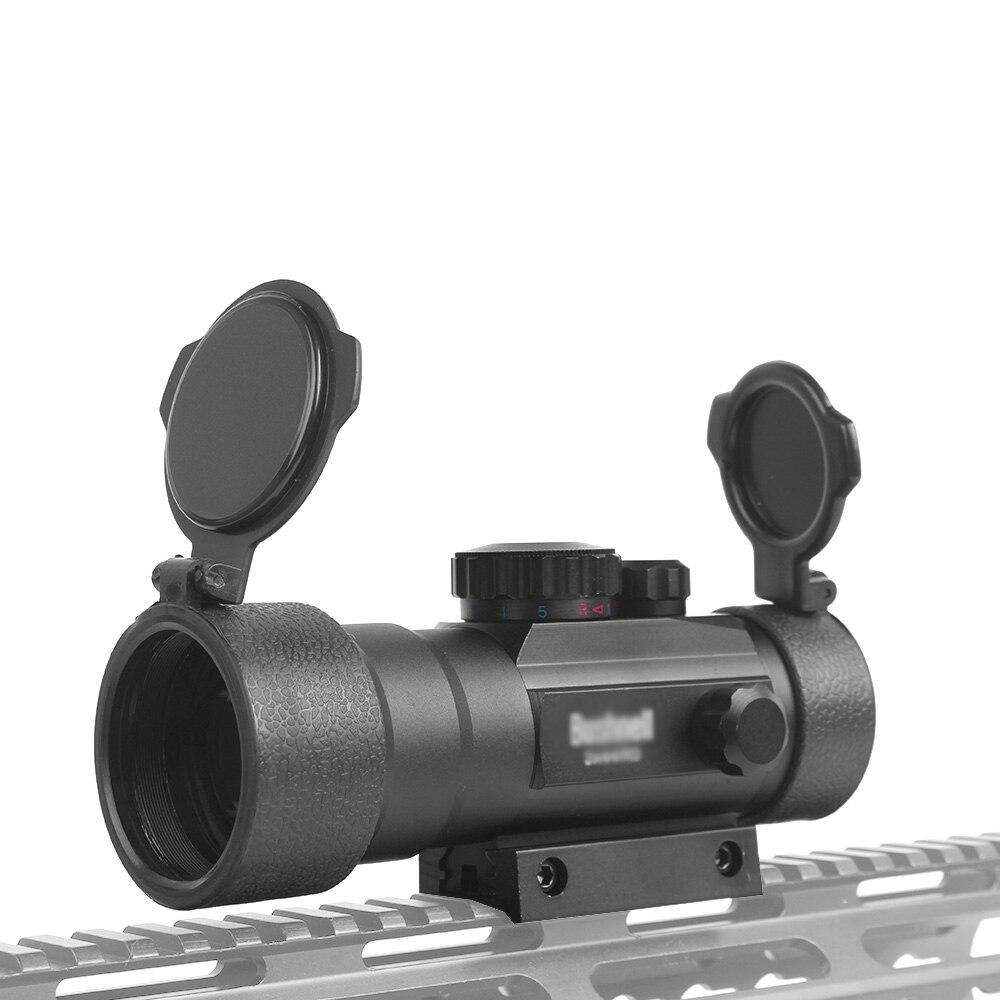 3x44RD Rot Grün Dot Anblick-bereich Optics Zielfernrohr Fit 11/20mm Schwalbenschwanz Schiene Für Outdoor Jagd Airsoft Gun red Dot Anblick