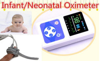 Neonatal Newborn pediatric Infant Pulse Oximeter with baby Spo2/ Monitor/ pulse oximeter alarm saturometro Oximetro de Pulso