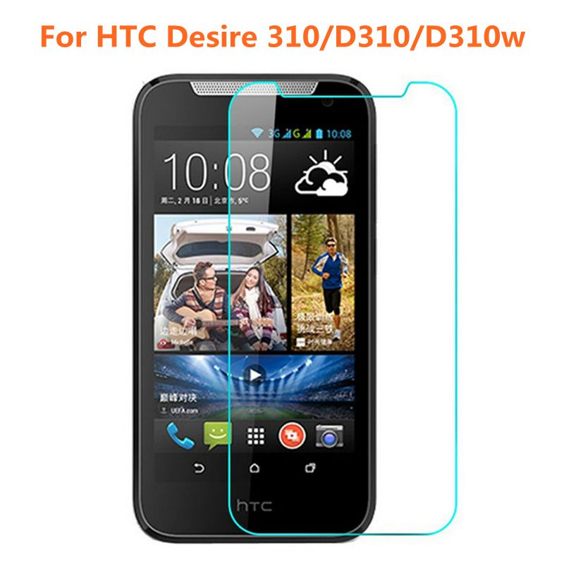 For Htc Desire 310 Tempered Glass Screen Protector 2.5 9h Safety Protective Film on D310W D310 Desire V1 Dual Sim Guard