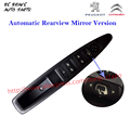 Automatic Rearview Mirror folding for Citroen C4 left front door glass electric window lifter switch master drive controller