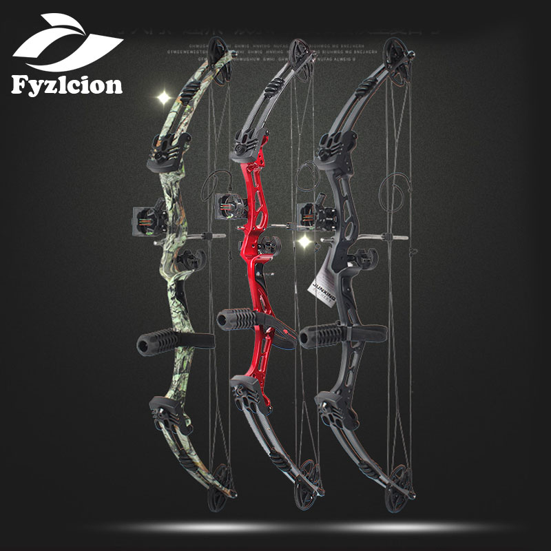 Hunting Crossbow Compound Bow M1983 Composite Bow 35-55 Lbs Adjustable Sights And Shock Absorption Outdoor