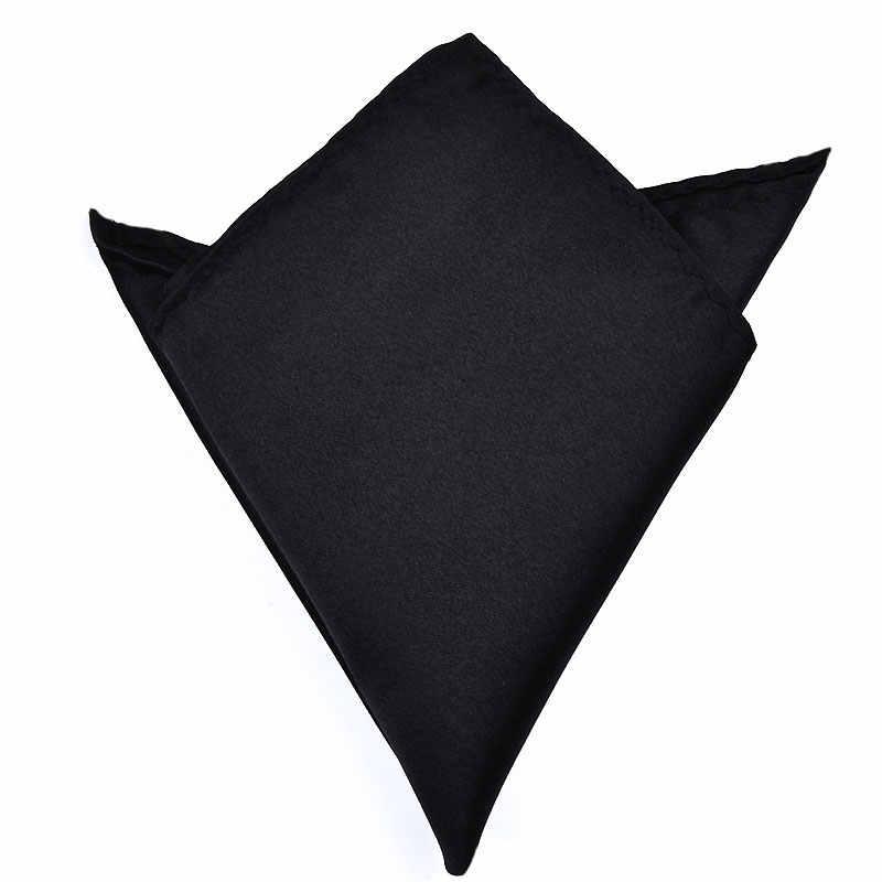 Hommes blanc mouchoir costume poche serviette accessoires mariage Banquet anniversaire Commercial noir rouge bleu
