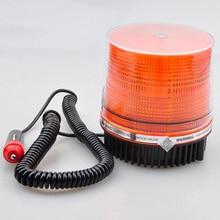 цена на 1Pcs LED Car Emergency Warning Lamp Magnetic Flashing Strobe Beacon for 12V Trailer Truck Boat Car