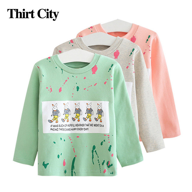 d16146e9d 2 7y Cute Candy Colors Baby Girls Sweatshirts Children Cartoon 5 ...