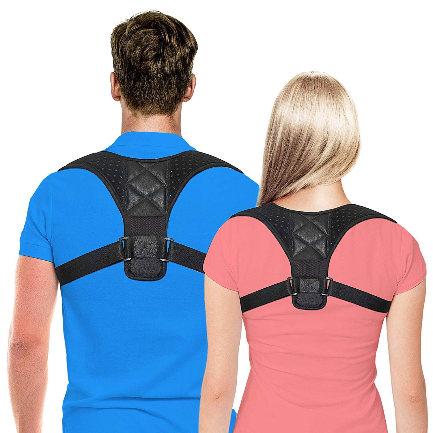 Unisex Adjustable Shoulder Back Support Belt