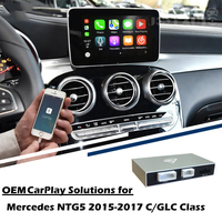 JoyeAuto Smart Apple CarPlay Box OEM Android Auto Mercedes C Class W205 GLC X253 2015 2016 2017 Upgrade Adapter Multimedia