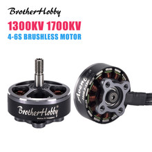 1/4PCS BrotherHobby 2806.5 1300KV 1700KV 4-6S RC 드론 FPV 레이싱 용 브러시리스 모터 DIY 액세서리 Replacment Parts(China)