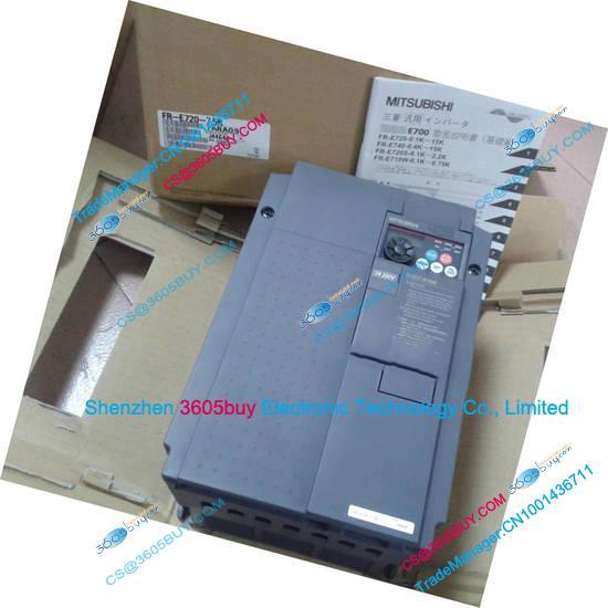 New Original Three phase 7.5KW inverter FR-E720-7.5K 200~240V 31A 0.2~400Hz