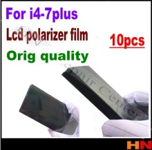 "10pcs for iPhone 4 4s 5 5s 5c se 6 6s 7g plus 4.7 5.5inch 4.7"" LCD Polarizer Film Polarization Light Film"