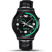 Reloj inteligente Smartwatch Teléfono GW01 Delgado Fino de Metal Redondo Del Corazón velocidad de Sincronización de Llamadas Empuje Mensaje Relogio para iPhone IOS Samsung Android