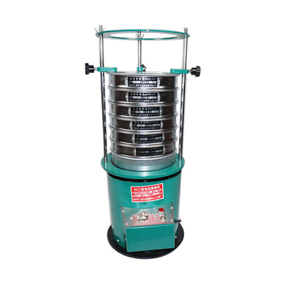 220V sieve diameter 20cm Screen Electric Vibrating Sieve Machine, Electric sieve shaker with timing function, <font><b>Screening</b></font> machine image