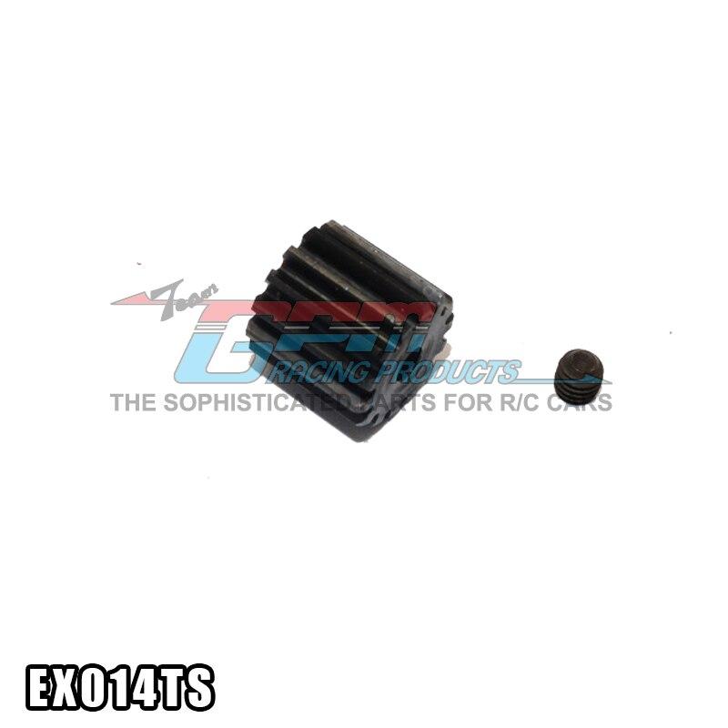 Осевой EXO 1/10 4WD TERRA BUGGY (AX90015) стальной мотор шестерни (14 T) 1 шт Детали и аксессуары   