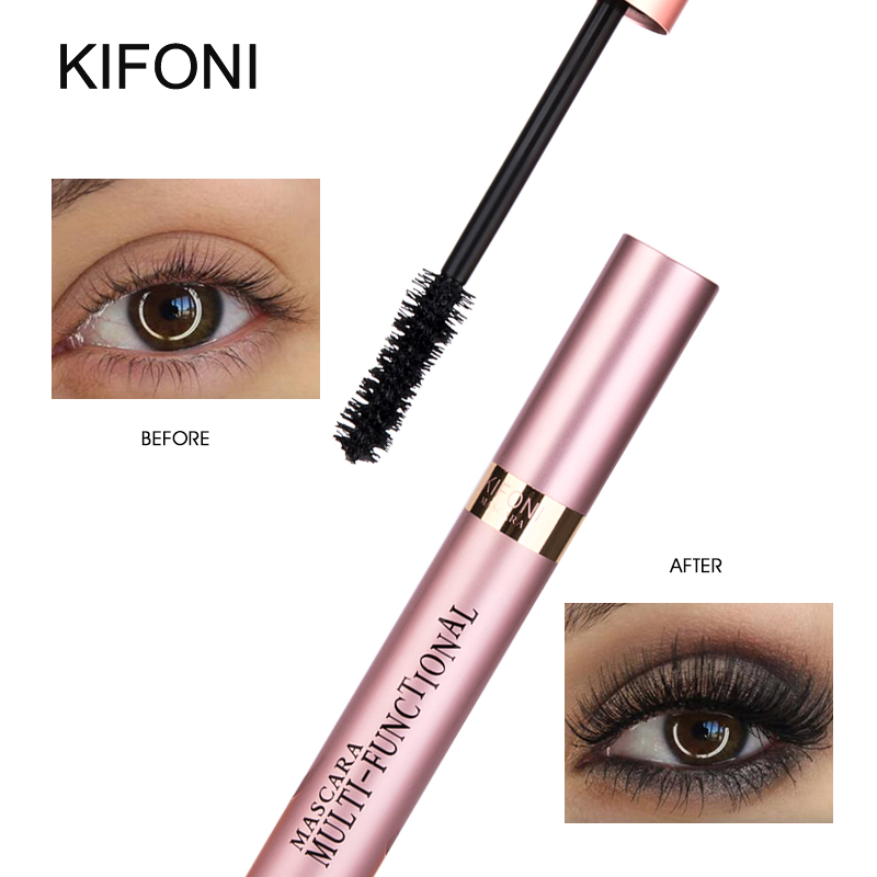 KIFONI makeup 4D Silk Fiber Lash Mascara Waterproof Rimel Mascara Eyelash Extension Black Thick Lengthening Eye Lashes Cosmetics in Mascara from Beauty Health