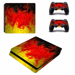 Image 4 - Custom Design PS4 Slim Skin Sticker For Sony PlayStation 4 Console and Controllers PS4 Slim Skins Sticker Decal Vinyl