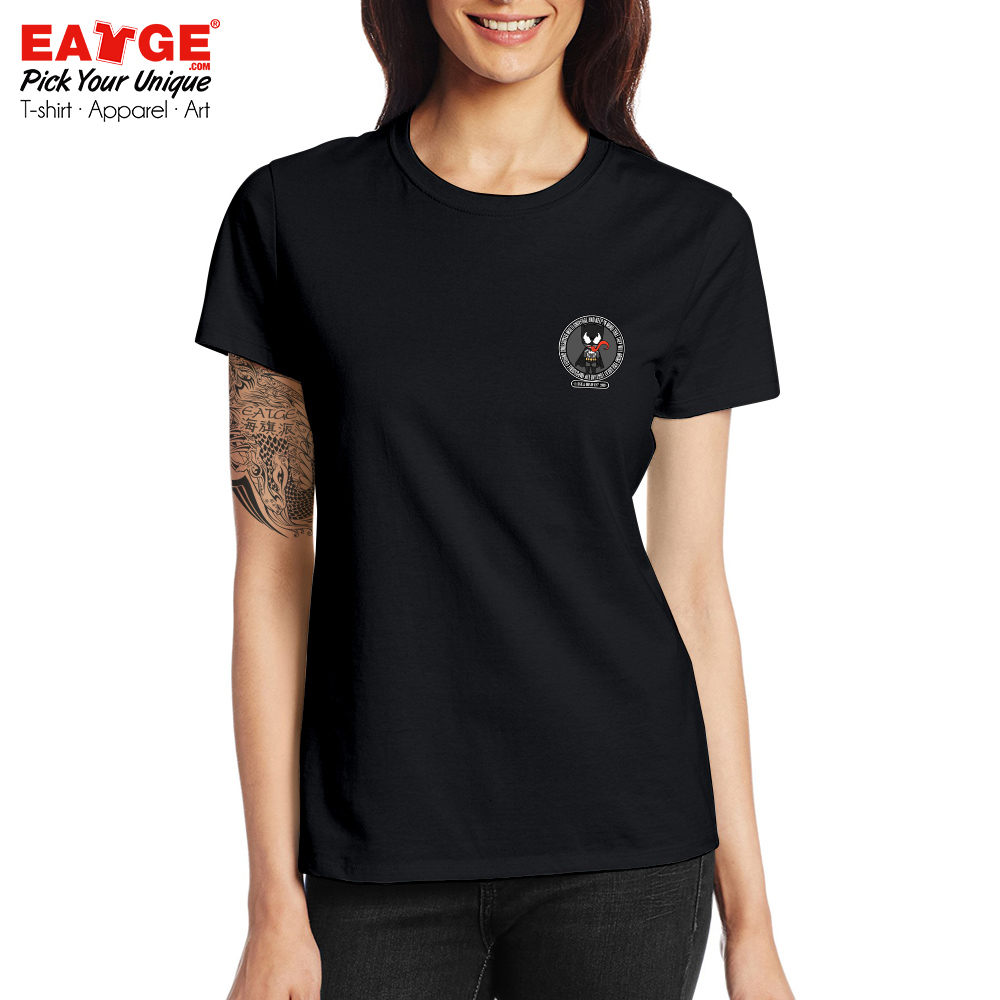 An Impossible Fusion Between Batman And Venom T shirt Cool Active T Shirt Pop Novelty Women Men Cotton Black Double Sided Top in T Shirts from Men 39 s Clothing