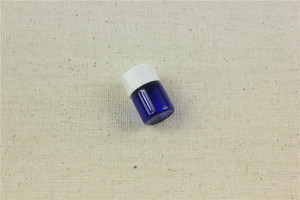 Image 3 - 100 stks/partij 1 ml, 2 ml Kobalt Essentiële Oliën Fles Met Plastic Deksel 2 ml Glazen Fles Blauw Glas flesjes Met Dropper