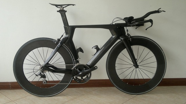 Time Trial Full Carbon Bike Complete Carbon Tt Bike R8000 Groupset