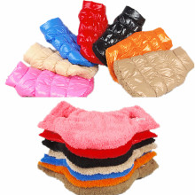 Šiltos minkštos žiemos šunų drabuziai Tamsintas medvilnės pluoštas šunų striukės kailis Moterų drabužiai šunims Čihuahua pudelis Jorko šuniuko apranga 30