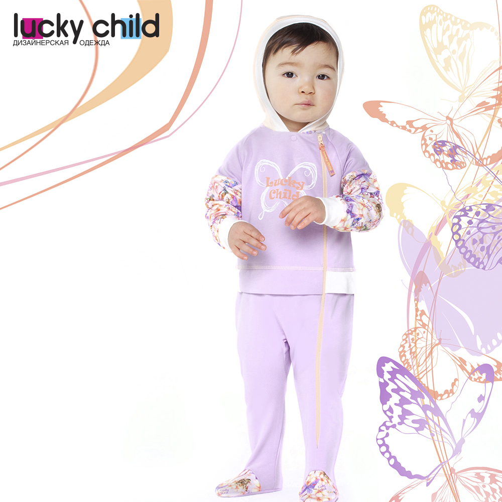 Jumpsuit Lucky Child for girls 26-3f Children's clothes kids Rompers for baby rompers lucky child for girls 11 28 rompers baby jumpsuit kids overalls children clothes