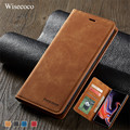 Luxury Leather Flip Case for Samsung Galaxy Note 9 S10 S9 S8 Plus E A6 A7 A8 2018 Card Holder Magnetic Wallet Stand Book Cover