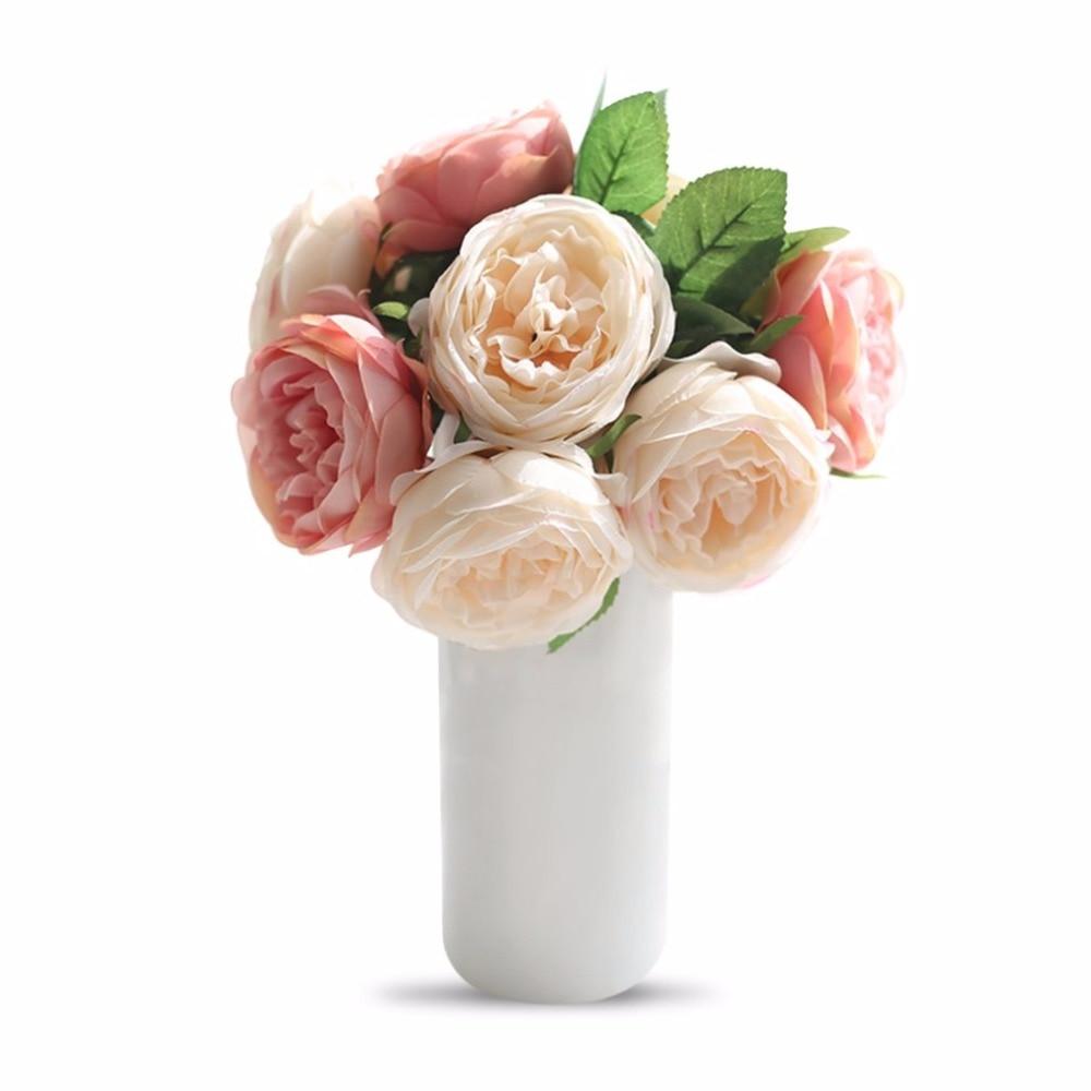 Online Get Cheap Round Wedding Bouquet Aliexpresscom Alibaba Group