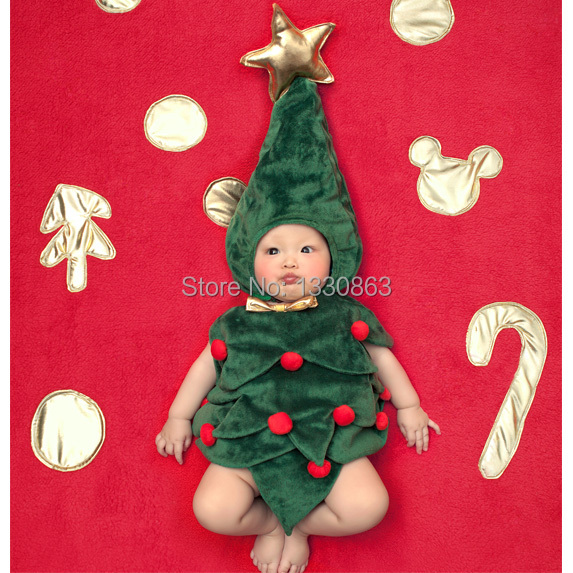 Newborn Baby Costume Photography Christmas Trees & Prop Poker card Infant Girl and Boy Knit Crochet  include the blanket newborn baby photography props infant knit crochet costume peacock photo prop costume headband hat clothes set baby shower gift