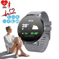 Women's Watch Blood Pressure Monitor Smart Watch Luxury Weather Forecast Bracelet Watch Phone Calorie Ladies Sport Wristwatch