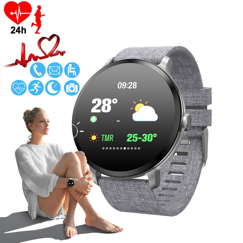 Montre pour femme tensiomètre montre intelligente de luxe prévision météo Bracelet montre téléphone calories dames Sport montre-Bracelet