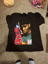 Printed Tee Shirts Crew Neck Short Sleeve 50 Cent -Get Rich Or Die Trying Top Mens T Shirt