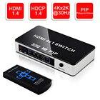 4K 4 Port HDMI Switc...