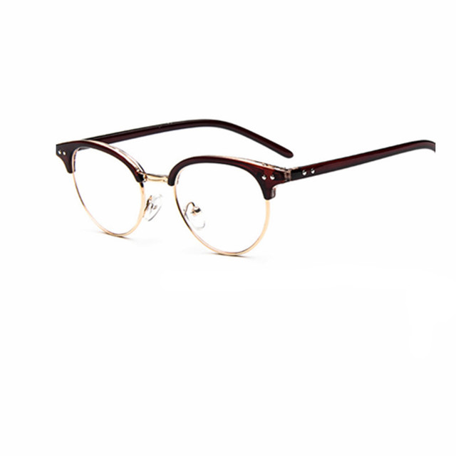 2017 fashion optical frame eyeglasses clear young people Large ...